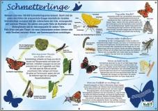 NaBiT Themenschild Schmetterlinge